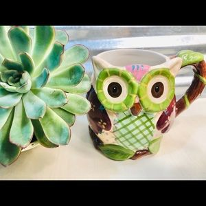 Coffee Mug Jumbo Owl Pier One